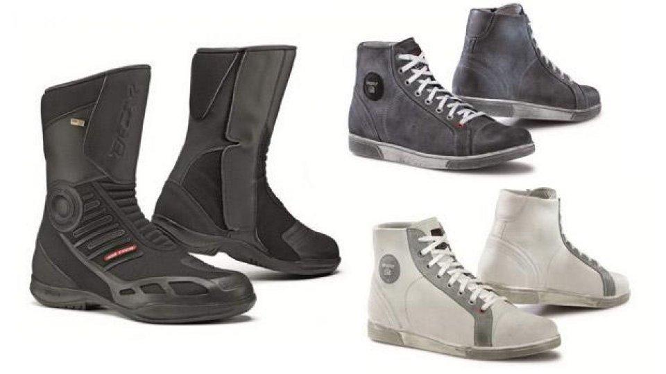Moto - News: TCX: nuovi prodotti per la linea Touring e Sneakers