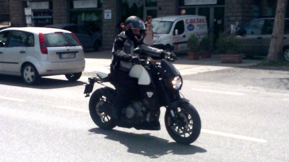 Moto - Gallery: Moto Morini Rebello 1200 Giubileo, prototipo