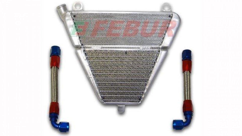 Moto - News: Febur: kit radiatore olio per Ducati 1199 Panigale
