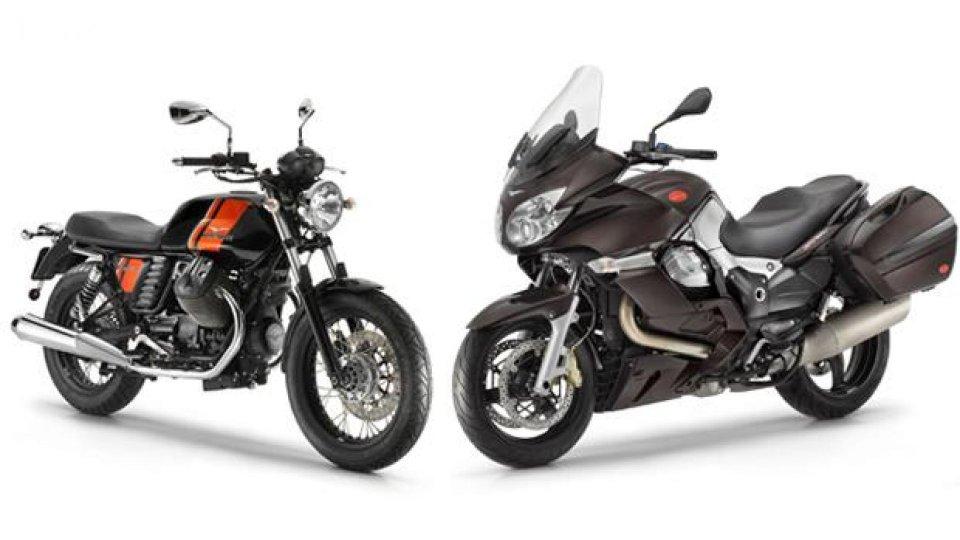 Moto - News: Moto Guzzi V7 Special e Norge GT8V: colorazioni 2013