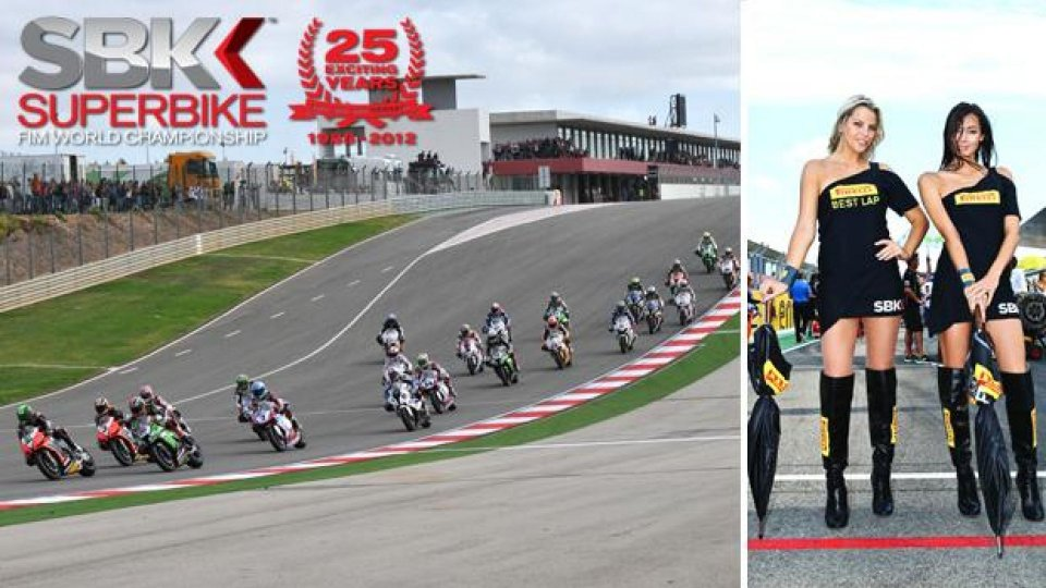 Moto - News: WSBK 2013: week-end a Portimao