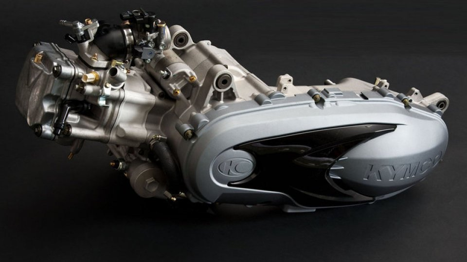 Moto - Gallery: Motore Kymco G5 SC 400 cc