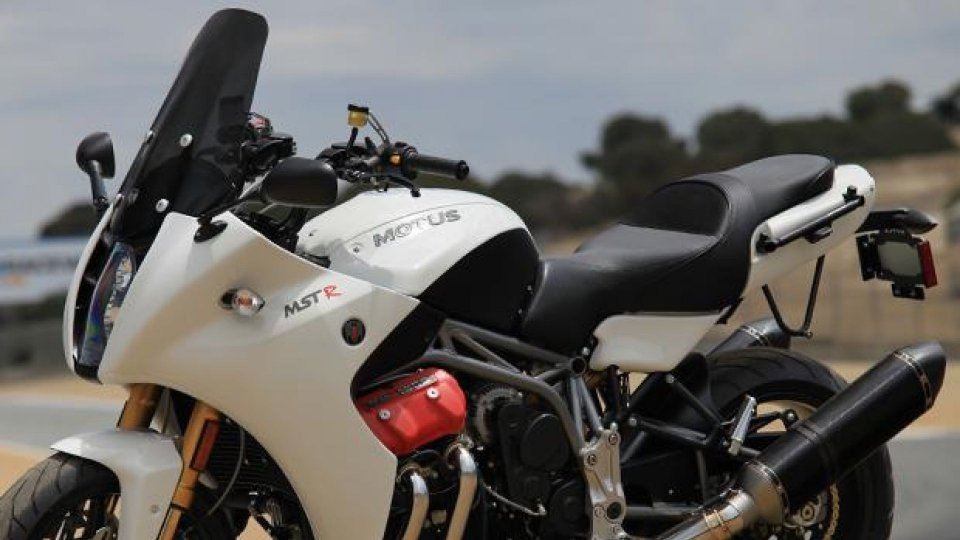 Moto - News: La Motus MST 2014 svelata a Laguna Seca