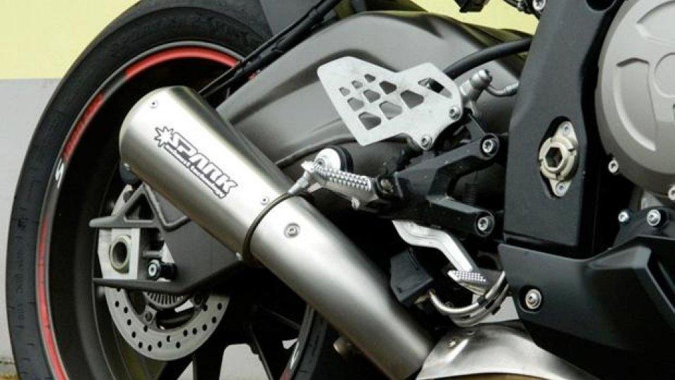 Moto - News: Spark Exhaust Technology: silenziatore Motogp per BMW S 1000 RR