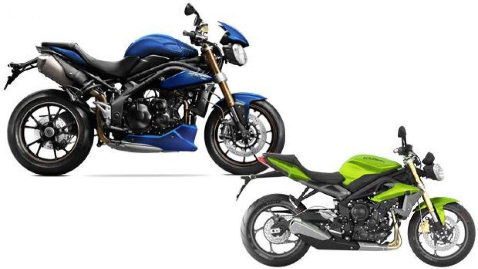 Moto - News: Triumph Speed Triple/R e Street Triple MY 2014