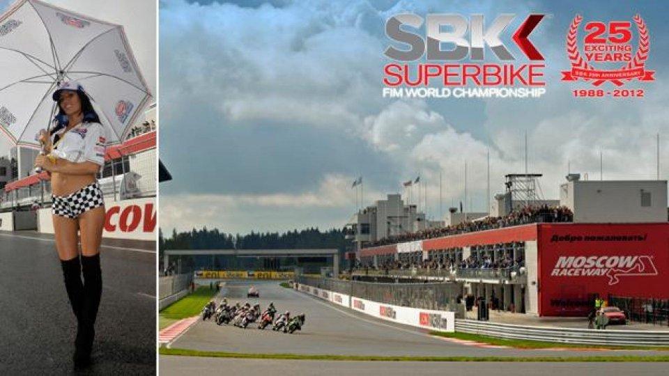 Moto - News: WSBK 2013: week-end al Moscow Raceway