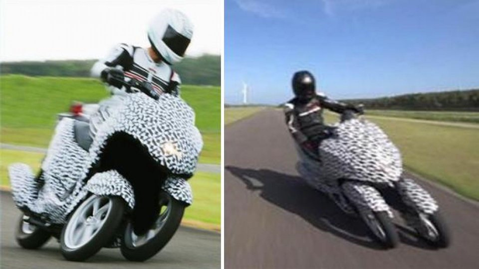 Moto - News: Yamaha: in arrivo uno scooter a tre ruote