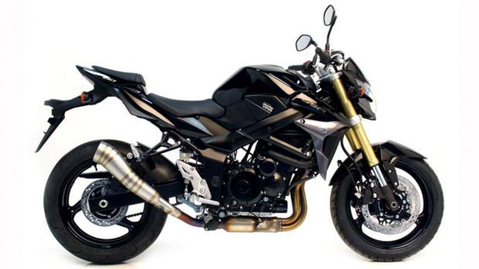 Moto - News: LeoVince SBK GP PRO Slip-on Omologato EVO II per Suzuki GSR 750