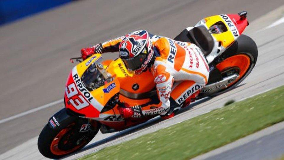 Moto - News: MotoGp 2013, Indianapolis, Qualifica: Marquez davvero imprendibile