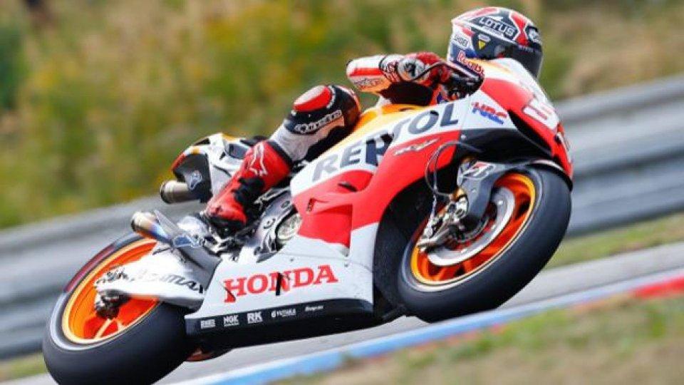 Moto - News: MotoGp 2013: Márquez e' inarrestabile anche a Brno