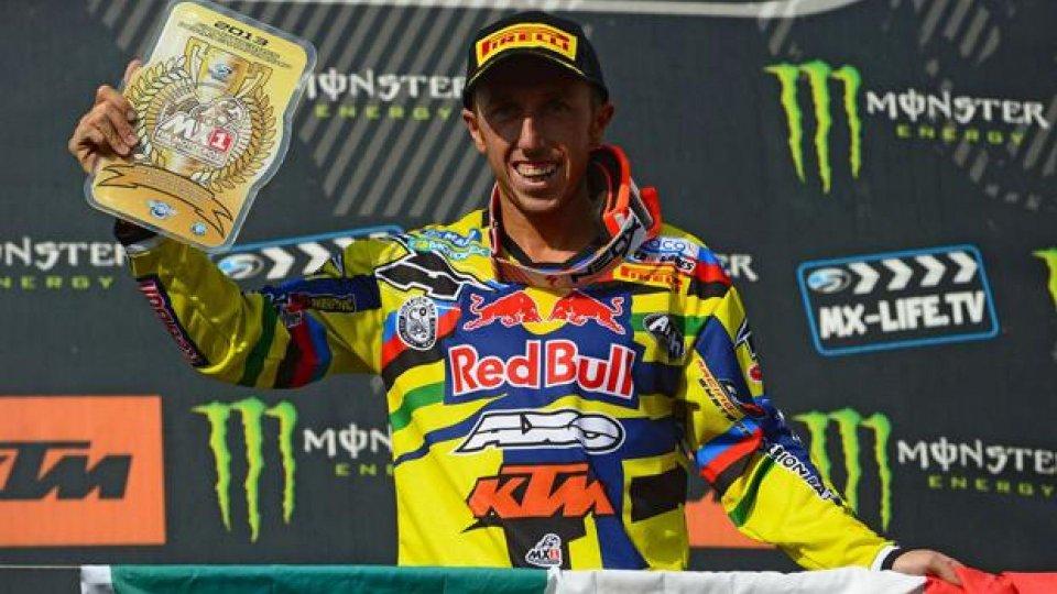 Moto - News: MX2013: Tony Cairoli firma il settimo sigillo
