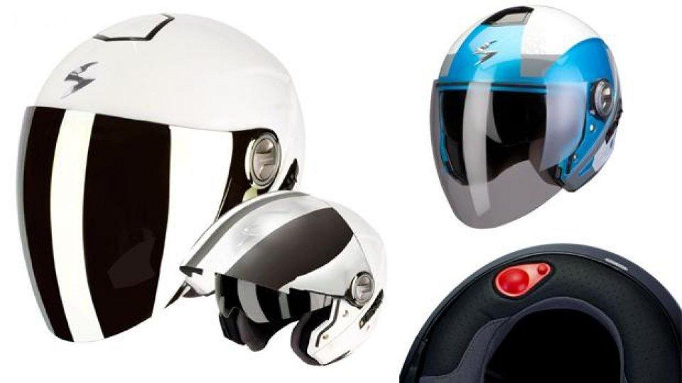 Moto - News: Scorpion Exo - 210 Air