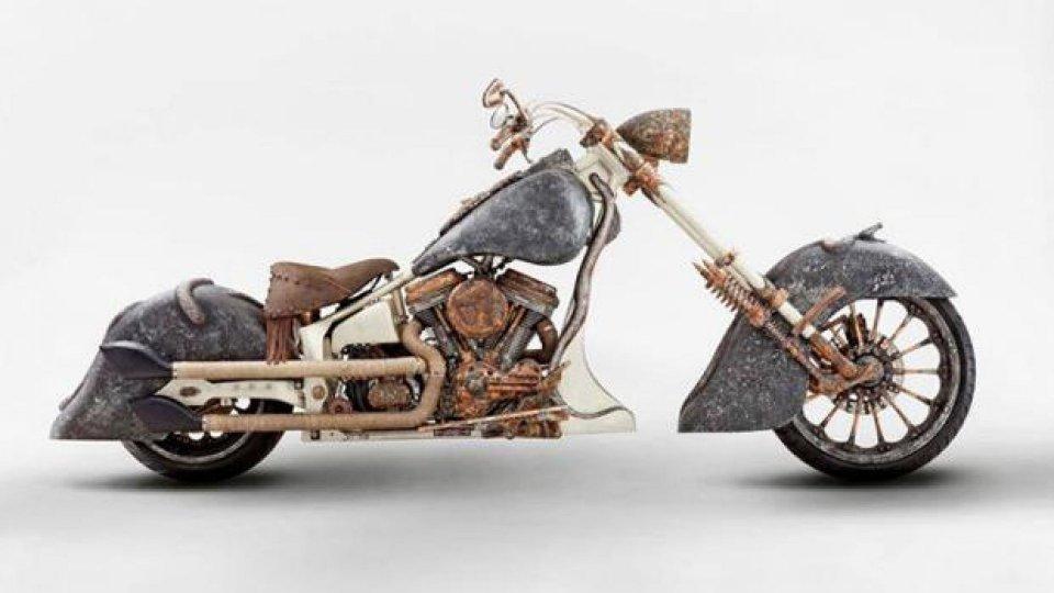 Moto - News: TT Custom Choppers: Medusa, la moto del record!
