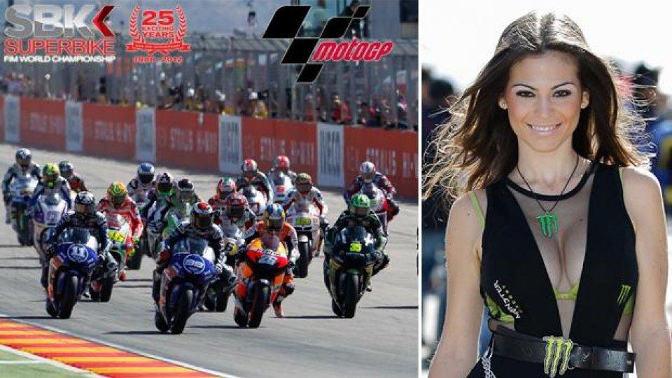 Moto - News: MotoGP 2013 e WSBK 2013: week-end ad Aragon e Laguna Seca