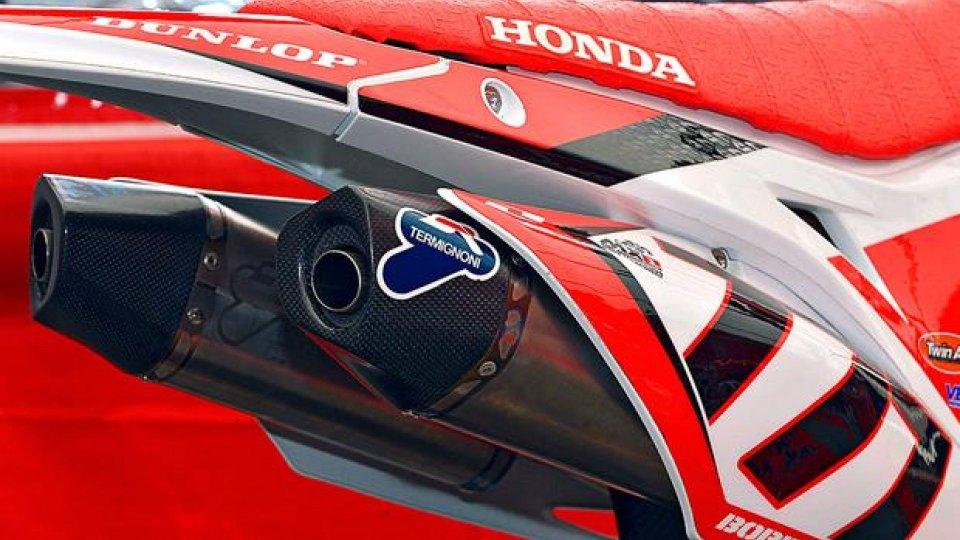 Moto - News: Termignoni per Honda CRF 450 F