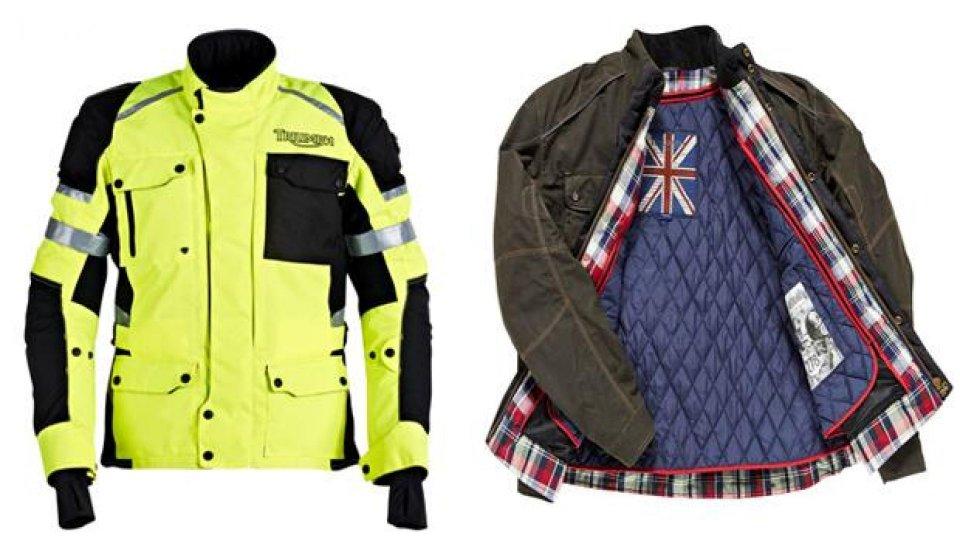 Moto - News: Triumph: abbigliamento invernale 2013/2014