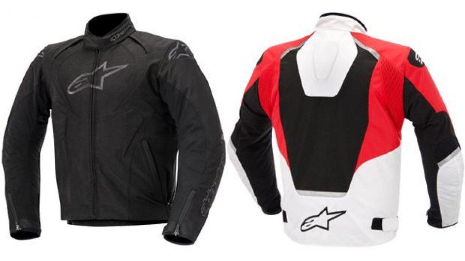 Moto - News: Alpinestars T-Jaws Waterproof Jacket 2014