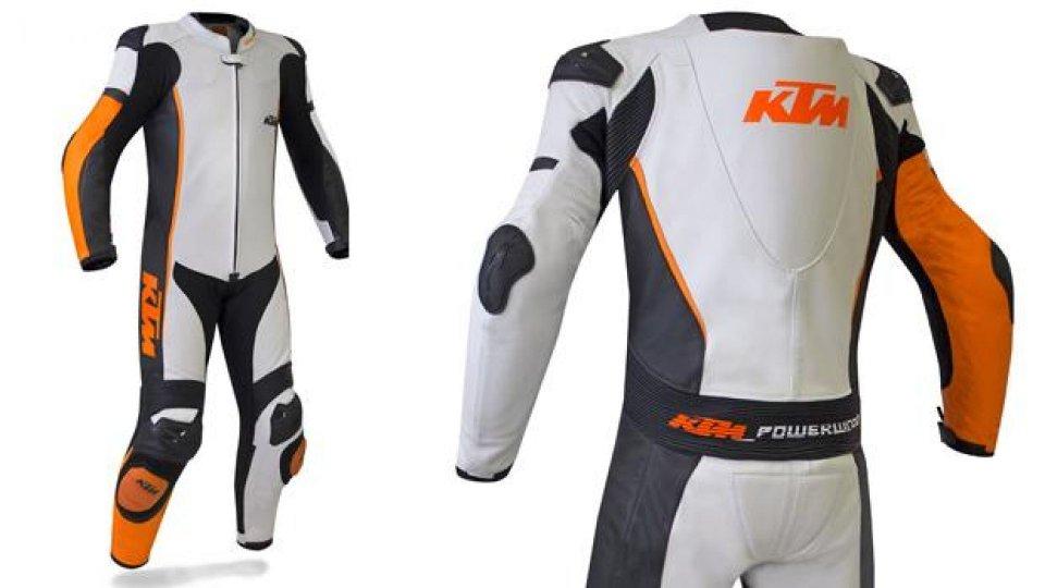 "Moto - News: KTM e Gimoto: ""nasce"" una tuta intera"