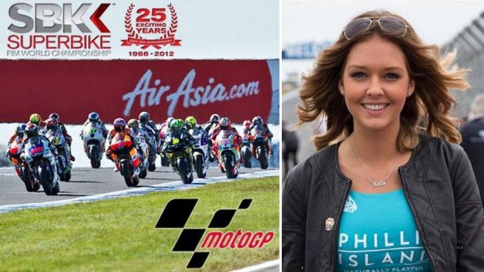 Moto - News: MotoGP 2013 e WSBK 2013: week-end a Phillip Island e Jerez