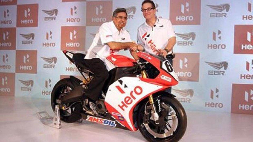 Moto - News: WSBK 2014: Erik Buell Racing gareggerà con il marchio Hero