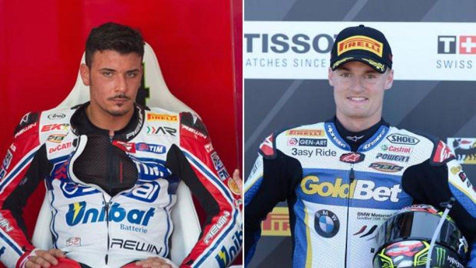 Moto - News: WSBK: Ducati con Giugliano e Davies nel 2014