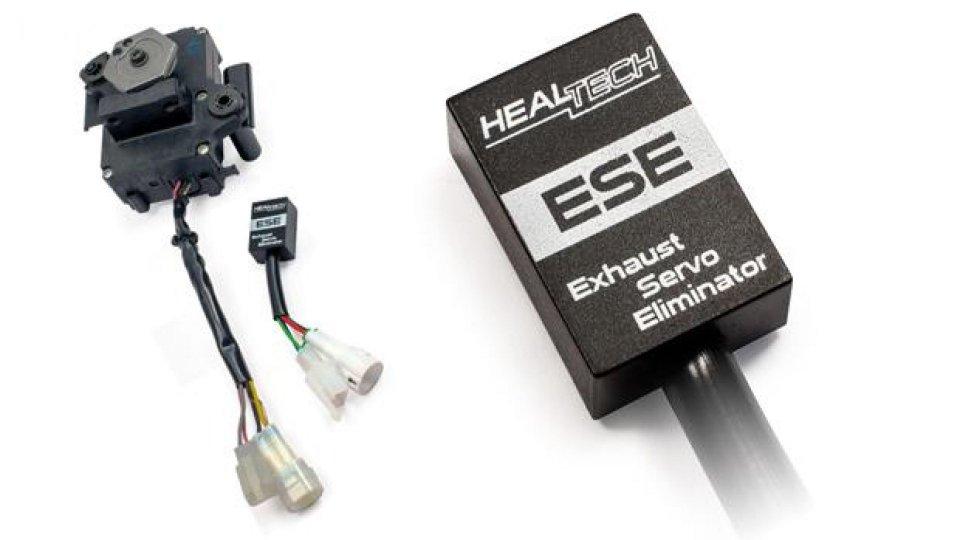 Moto - News: Healtech ESE: l'eliminatore della valvola di scarico