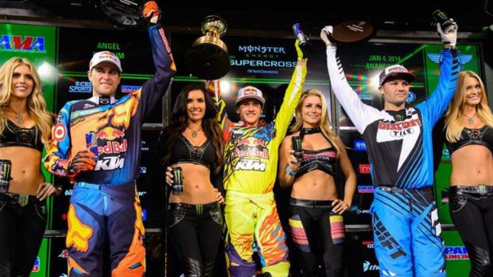 Moto - News: AMA Supercross 2014 Rd.1 - Anaheim: Roczen vince al debutto!