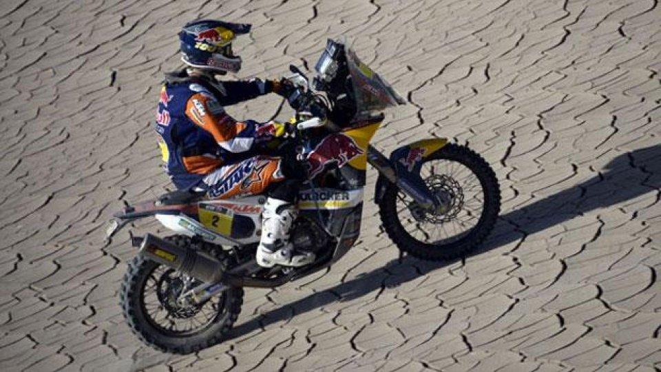 Moto - News: Dakar 204, Tappa 11: Coma, sempre più in alto