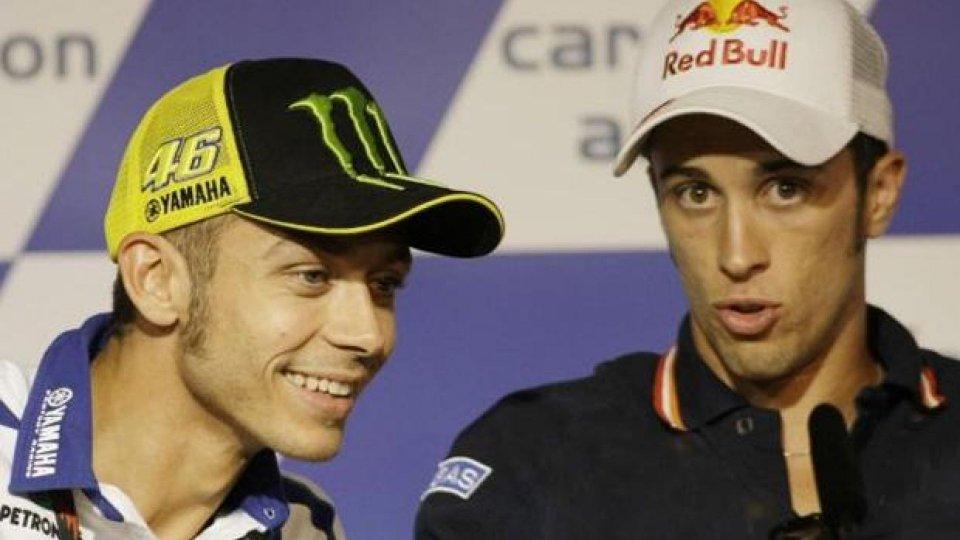 Moto - News: MotoGP: Valentino Rossi ha sbagliato a sviluppare la Ducati, parola di Dovizioso