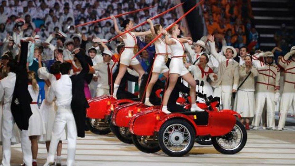 Moto - News: Olimpiadi di Sochi: i Sidecar Ural protagonisti della cerimonia d'apertura