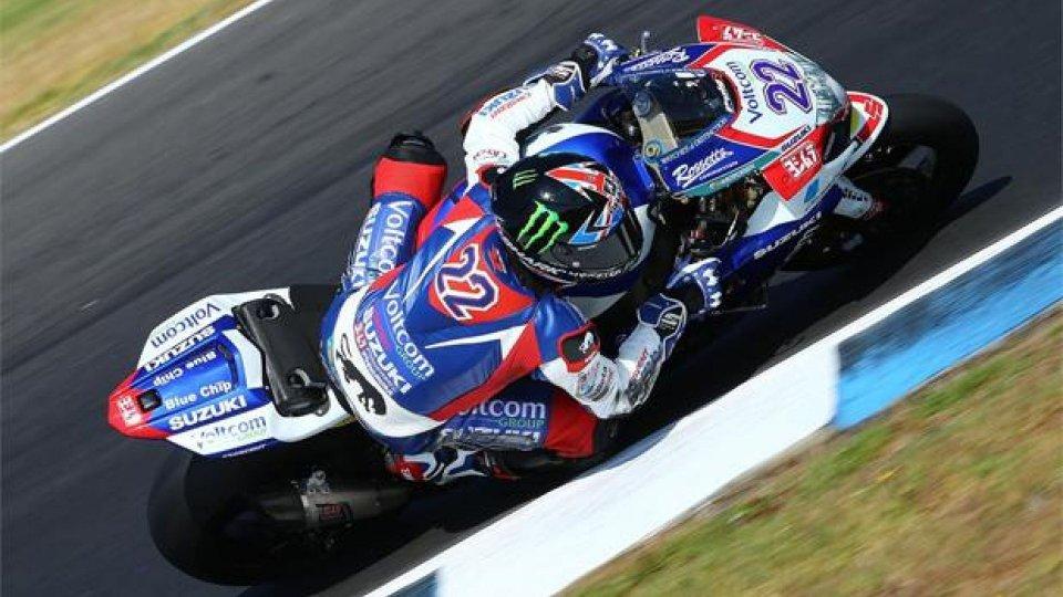 Moto - News: Superbike 2014 Phillip Island – Libere 1 e 2: Alex Lowes davanti a tutti