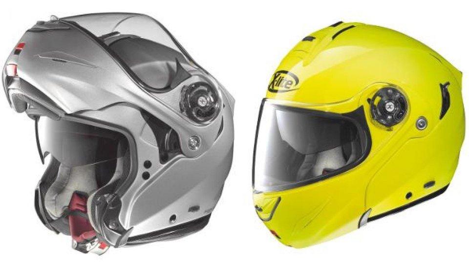 Moto - News: X-lite X-1003: nuovo casco top di gamma modulare 2014