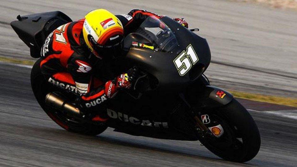 Moto - News: MotoGP 2014, Ducati: sessione extra di Test per Dovizioso, Crutchlow e Pirro
