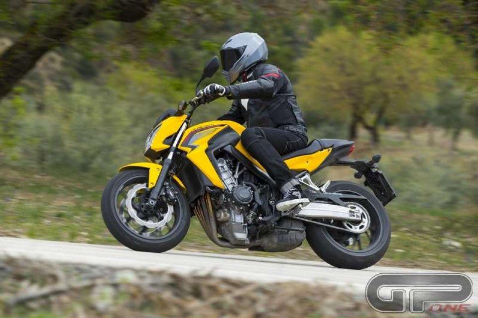 Honda CB650F: divertimento immediato