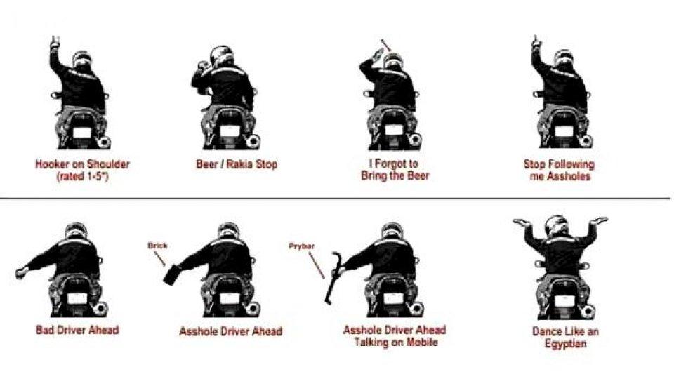 """Moto - News: Il """"linguaggio"""" del motocicista: 6 gesti da conoscere e utilizzare sempre"""