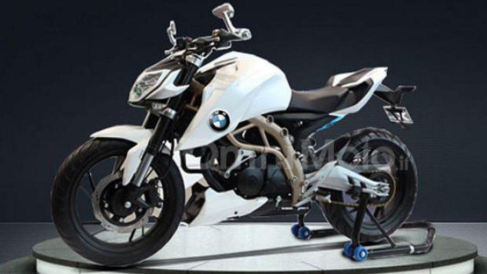 Moto - News: La prima BMW entry level sarà una 300 cc?