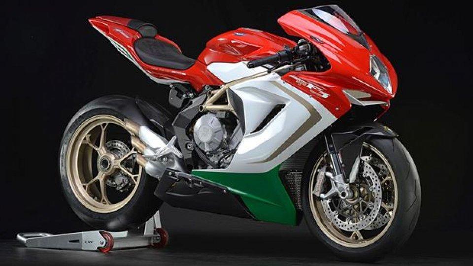 Moto - News: MV Agusta F3 800 AGO: 300 pezzi in serie limitata