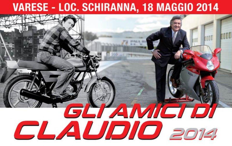 """Gli """"amici di Claudio"""" ricordano Castiglioni"""