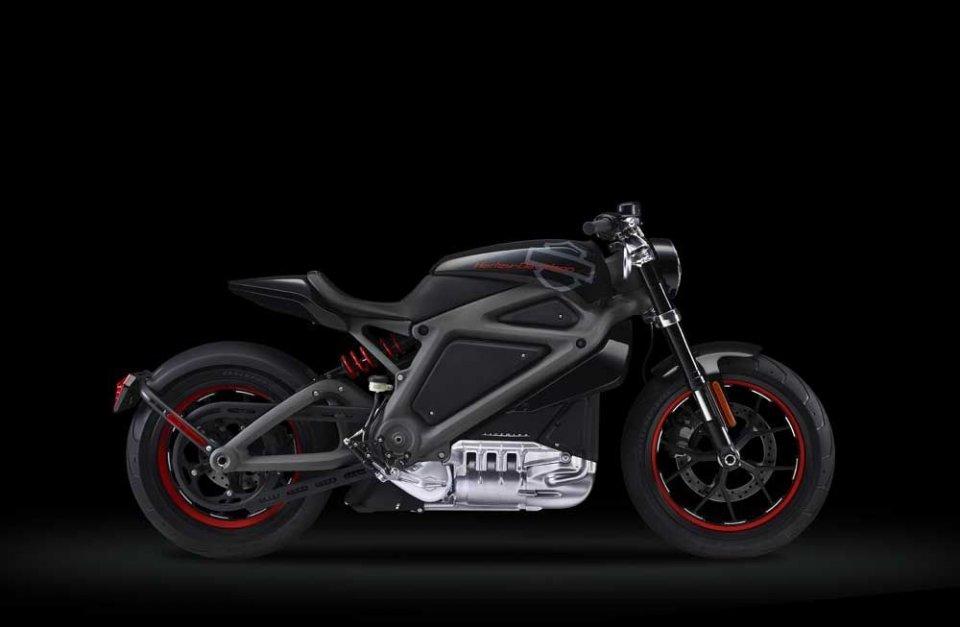 Sorpresa, arriva l'Harley-Davidson elettrica