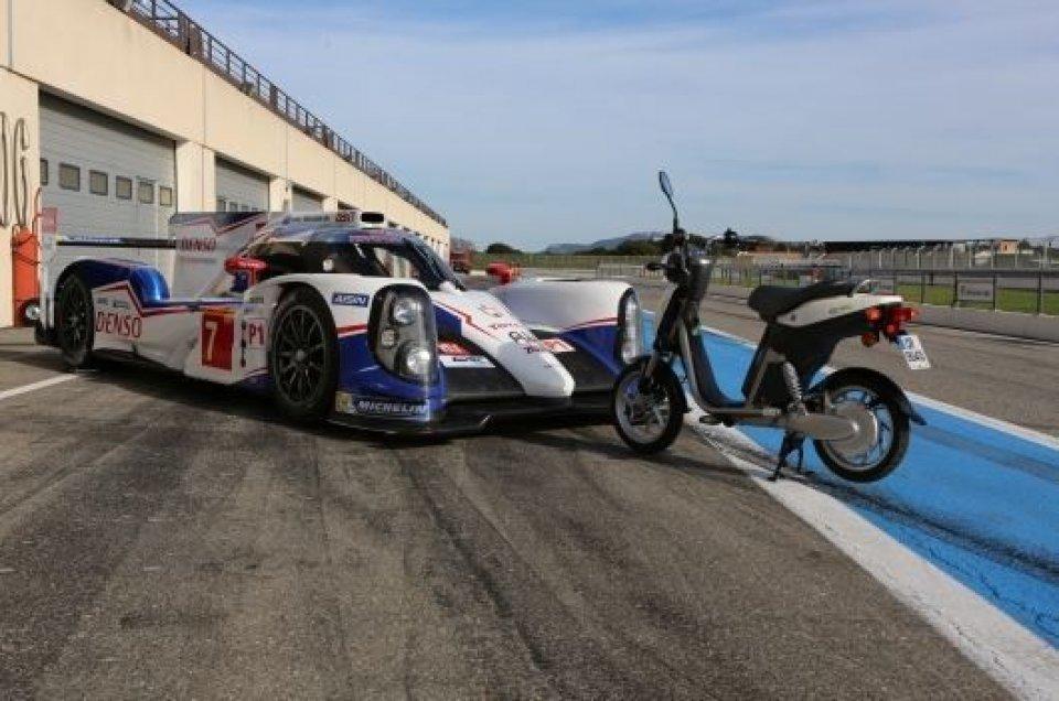 Moto - News: La Toyota a Le Mans si affida a Yamaha