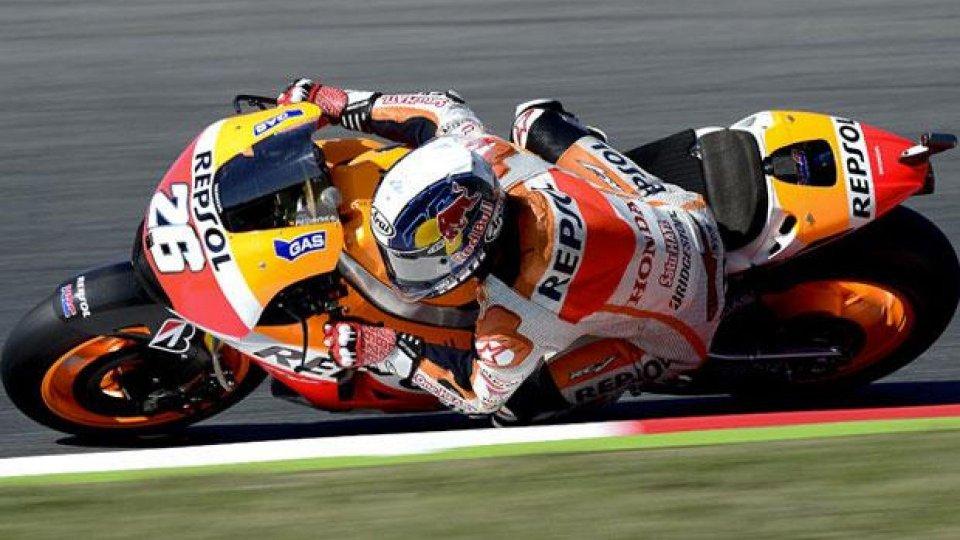 Moto - News: MotoGP 2014, Barcellona: Pedrosa strappa la pole a Marquez