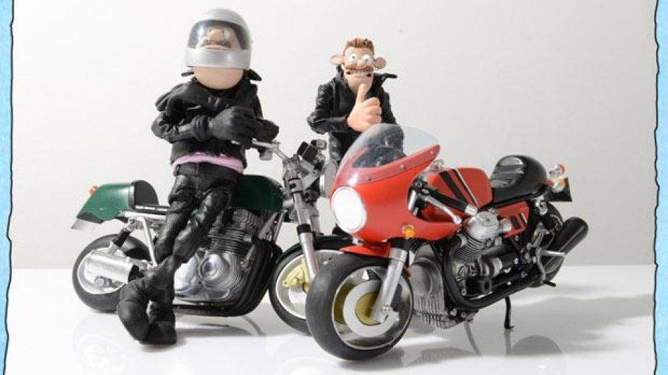 Moto - News: Motomania: video-fumetti in stop motion in stile cafe racer