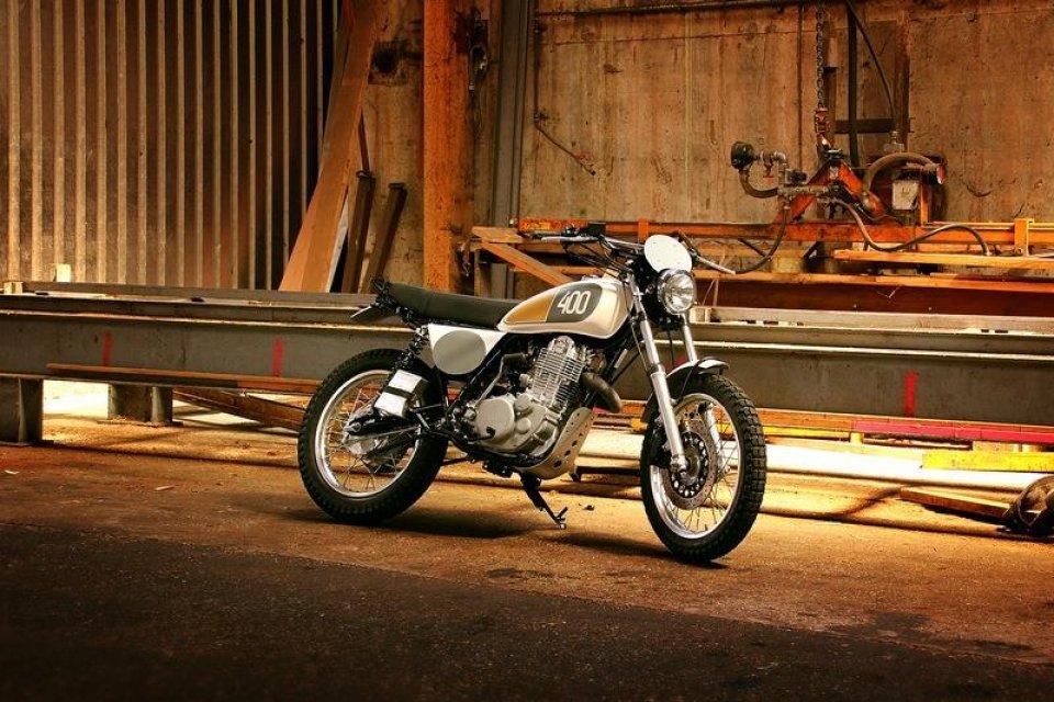 Yamaha Yard Built al Wheels & Waves