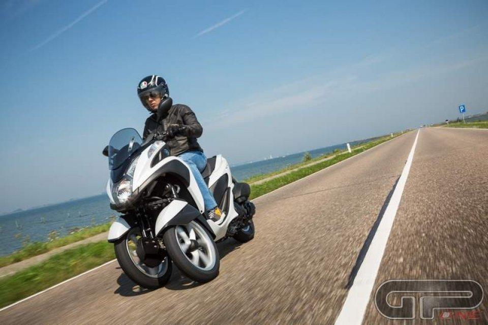 Yamaha Tricity: Slalom da città