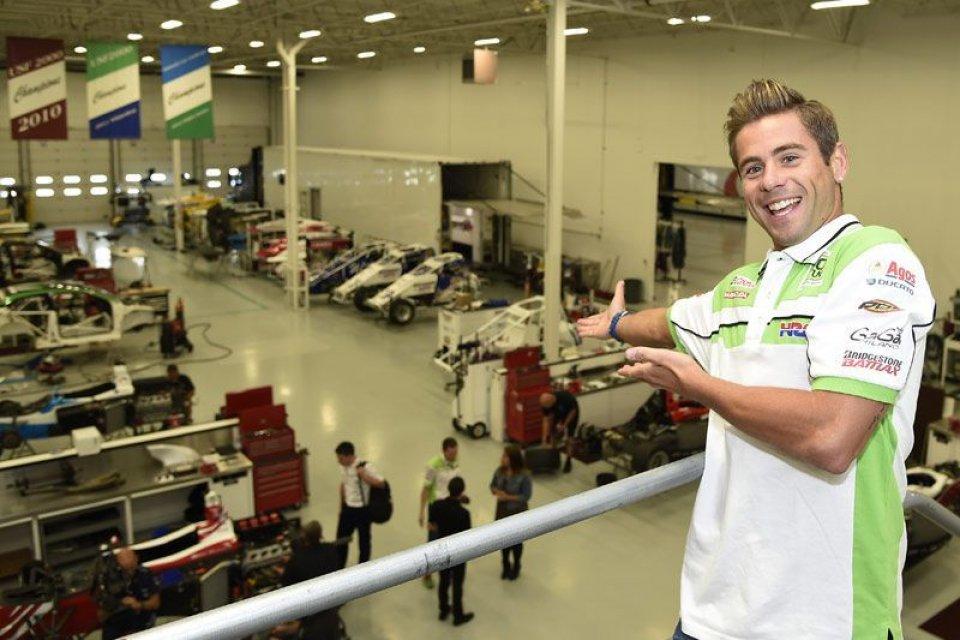 Bautista va a scuola di 500 Miglia da Andretti