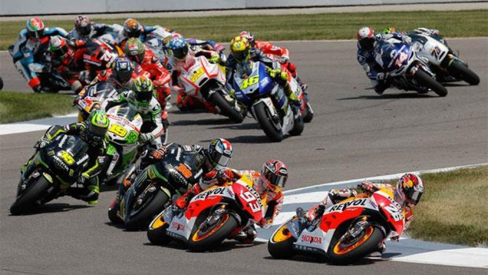 Moto - News: MotoGP 2014, Brno, Q2: spettacolo Ducati, ma dietro a Marquez