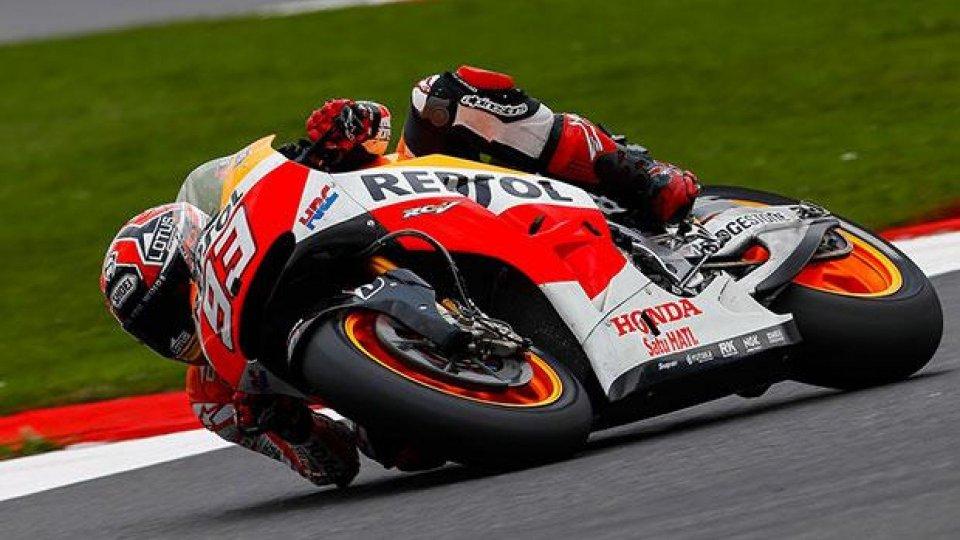 Moto - News: MotoGP 2014, Silverstone: Marquez alla decima pole