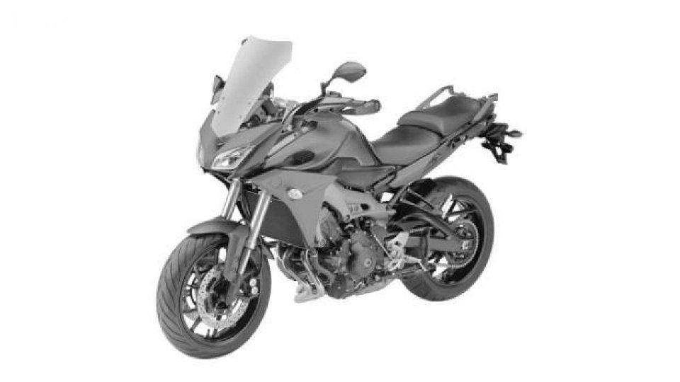 Moto - News: Yamaha MT-09X: ecco le foto dei brevetti