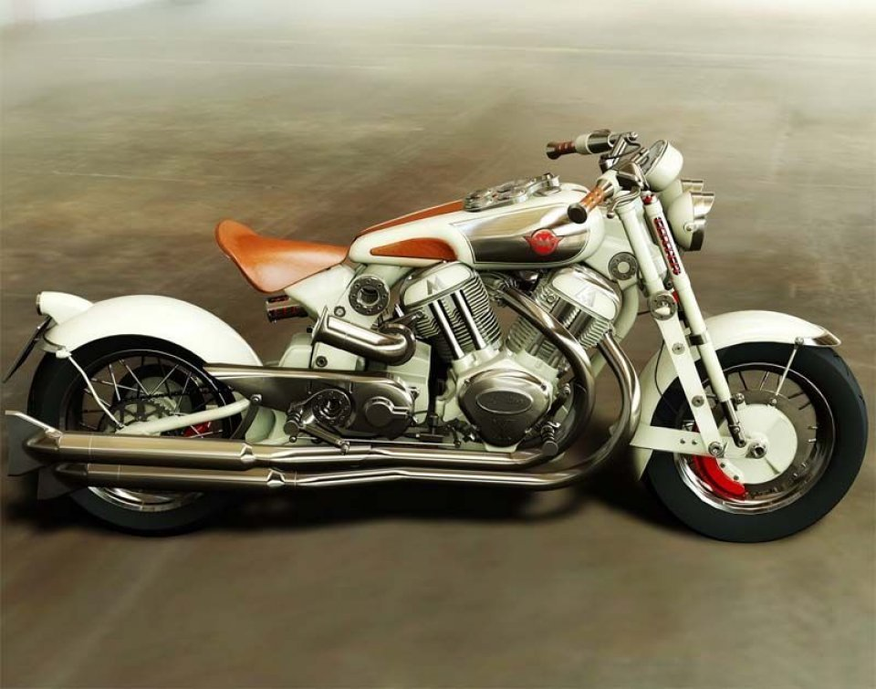 Rinasce Matchless con la Model X Reloaded