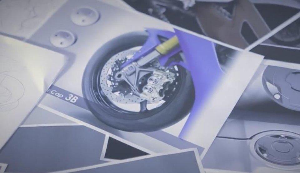 Yamaha svela un teaser della nuova R1!